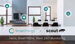 smartthings scout alarm