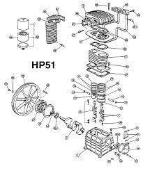 american imc hp51 pump parts