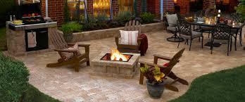 amazing stone paver patio ideas rumblestonesite 960x400