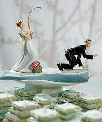 cake toppers for weddings fishing and groom cake toppers
