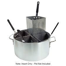 pasta basket update apsa ins 1 4 size pasta cooker insert stainless