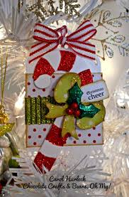 chocolate crafts and bears oh my happy new year christmas tags