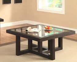 square glass top coffee table square glass top coffee table thelt co