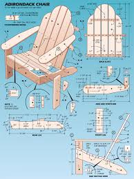 Free Woodworking Project Plans Furniture by Free Woodworking Plans Adirondack Chair Plans Food Pinterest
