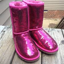 ugg jaspan sale 98 ugg boots traded pink sequin ugg boots from