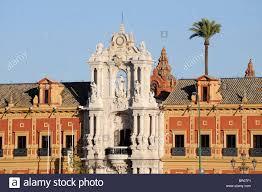 seville sevilla palacio san telmo the palace of san telmo baroque