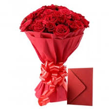 Red Rose Bouquet Buy Roses Online Send Fresh Rose Bouquet Bookmyflowers