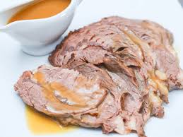Balsamic Roast Beef In Oven How To Cook Bottom Round Roast 8 Steps With Pictures Wikihow