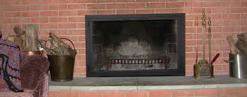 glass doors for masonry fireplaces