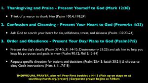 non denominational thanksgiving prayer south bay church prayer on livestream
