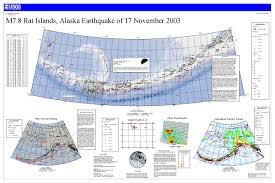 Map Of Aleutian Islands M 7 8 Rat Islands Aleutian Islands Alaska