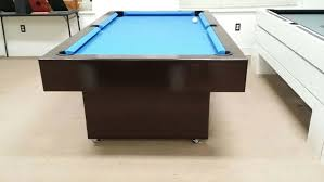 Table Legs With Casters by 7ft Billards Pool Table With Caster Wheels Legs