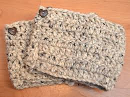 honestly simple crochet boot cuffs one artsy