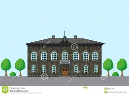 old english house vector architecture illustration history old
