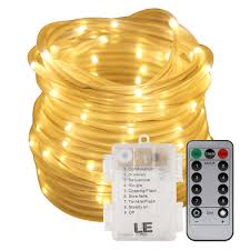 Christmas Rope Lights White by 33ft 10m Dimmable Led Rope Light Warm White For Garden Patio Party