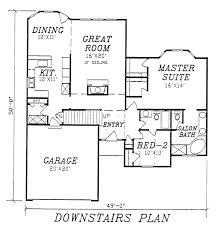 european style house plan 3 beds 3 00 baths 1750 sq ft plan 405 114