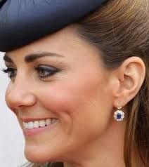 kate middleton s earrings sapphire and diamond earrings sapphire earrings sapphire and