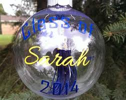 personalized graduation ornament tassel ornaments etsy