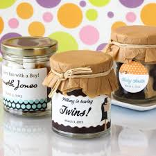 unique baby shower favors s mores personalized baby shower favors from beau coup