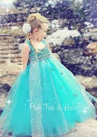 Elsa Costume Elsa Tutu Dress Elsa Frozen Tulle Dress Elsa Dress Elsa Costume