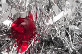 photo of red bauble free christmas images
