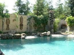 Tiki Backyard Designs by 58 Best Tiki Yard And Pool Ideas Images On Pinterest Pool Ideas