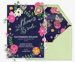 shower invitations bridal shower evite