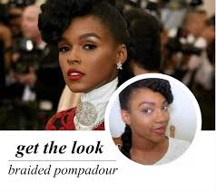 braided pompadour hairstyle pictures celeb inspired janelle s braided pompadour video un ruly