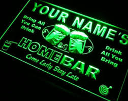 Neon Bar Lights Bar Light Etsy
