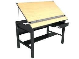 Large Drafting Table Drafting Table With Storage Image Of Drafting Table With Supplies
