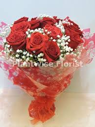 island balloon delivery twelve 12 roses bouquet handtied with i you balloon gift