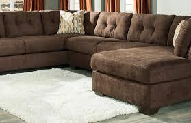 sofa ashley furniture brown corduroy sectional sofas astonishing