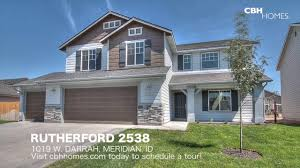 Corey Barton Floor Plans Cbh Homes Rutherford 2538 4 Bed 2 5 Bath 3 Car Garage Youtube
