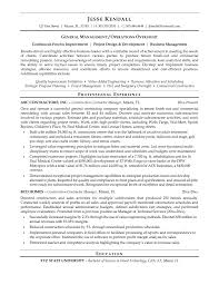Contractor Resume Sample by General Contractor Resume Samples Free Resume Example And