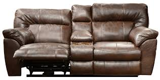 Loveseat With Chaise Lounge Furniture Recliner With Cup Holder For Extra Comfort