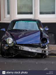 police porsche southend on sea uk 20th june 2015 porsche car crashes into bus