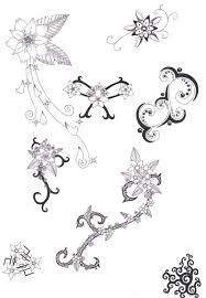 small flower designs for tattoos 931