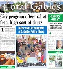 coral gables news tribune may 5 2009 edition local business
