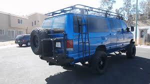 Ford Raptor Colors - 2003 ford e350 diesel van 4x4 on 37s ford raptor color youtube