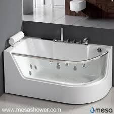 glass bathtub for sale china corner rectangular round acrylic glass whirlpool massage