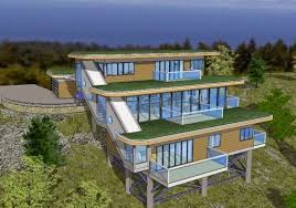home plans for sloping lots mountain home plans for sloped lots smart home designs