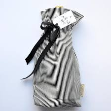 black and white striped gift bags gift bags by bagmar
