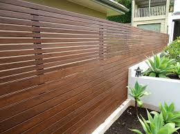 wooden horizontal slat fence ideas home interior u0026 exterior
