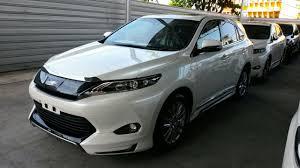 lexus harrier 2014 toyota harrier 2014 showcase newer interior suv cars pinterest