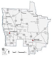 Map Minnesota Northwest Minnesota District 2