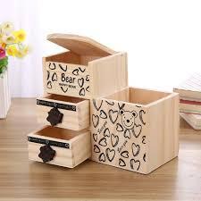 wooden pencil holder plans bear wooden pen holder kawaii desk tidy organizer pencil holder