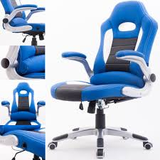 Desk Gaming Chair by Raygar Supreme Racing Gaming Swivel Office Chair Blue Www