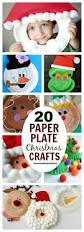 20 easy u0026 fun paper plate christmas crafts crafts pinterest