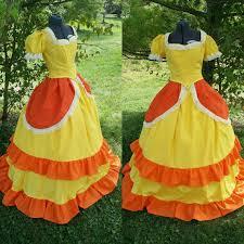 princess daisy costume cosplay by beautyandthefleece on etsy