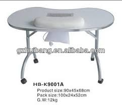 Small Portable Folding Table Used Small Portable Nail Salon Folding Tables Hb K9001a Buy Used
